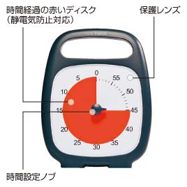タイムタイマー プラス【運動用品/タイマー・ストップウォッチ】