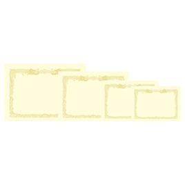 OA対応賞状クリーム地100枚 縦書A3【季節・行事用品/賞状用紙】