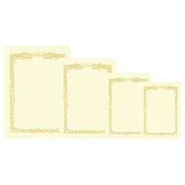 OA対応賞状クリーム地100枚 横書A3【季節・行事用品/賞状用紙】