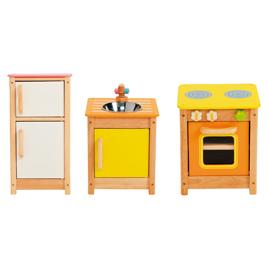 マイプレイキッチンセット【知育玩具/3歳/4歳/5歳/6歳/室内遊具/ままごと用品】