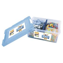 LaQ ベーシック5000【知育玩具/3歳/4歳/5歳/6歳/室内遊具/ブロック】