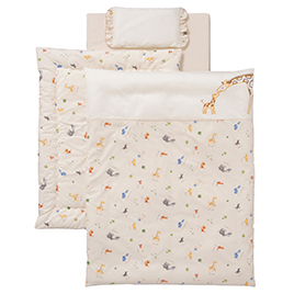 アドレーベベ 洗えるミニフトン6点セット【乳幼児用品/ベビーベッド・寝具】