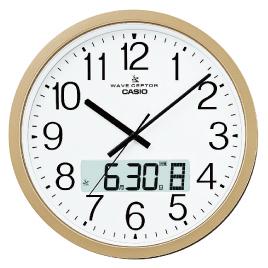 電波掛け時計IC-4100J【家電・カメラ・AV用品/時計】