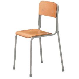 生徒用イス2号(120cm)【整理保管・事務用家具/学校用デスク・イス】