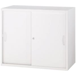 オフィスユニットH750スチール引戸型【整理保管・事務用家具/書庫】