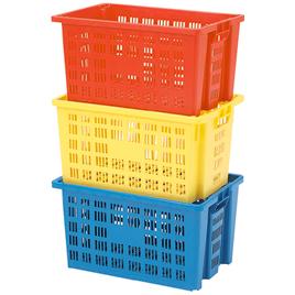 大型コンテナボックス 3色組【備品/整理用品】