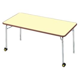 セフティテーブル車付き【備品/テーブル】