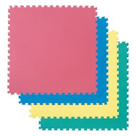 カラーユニットマット(4枚組)【備品/マット】