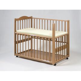 2方向型スライドベッド(マット付)【乳幼児用品/ベビーベッド・寝具】