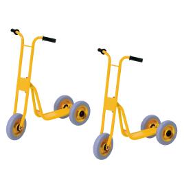 3輪スケータープチ(2台1組)【室外遊具/乗用玩具】