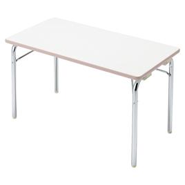 園児用テーブルEGM 2人用エッジピンク【備品/テーブル】