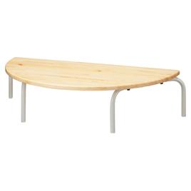 多目的テーブル 半円型 座卓タイプ【備品/家具】