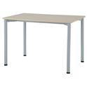 ワークテーブル1070ホワイト【整理保管・事務用家具/会議用テーブル】