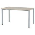 ワークテーブル1270ナチュラル【整理保管・事務用家具/会議用テーブル】