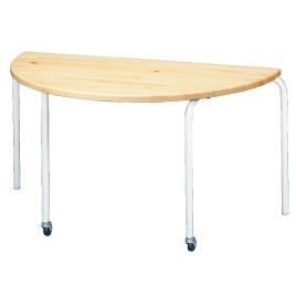 テーブルS-N7B-700-Pパイン集成【整理保管・事務用家具/会議用テーブル】