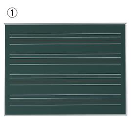 ローマ字黒板 W1210×H910mm【黒板・ホワイトボード用品/黒板】