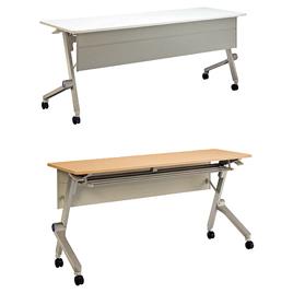 デリカフラップテーブルクルーク1860N【整理保管・事務用家具/会議用テーブル】