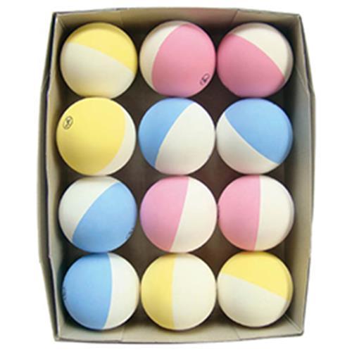 テニスボール軟式2色 12球【運動用品/テニス用品】