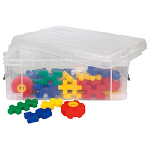 スーパーマルチブロックコンテナBOX【知育玩具/3歳/4歳/5歳/6歳/室内遊具/ブロック】