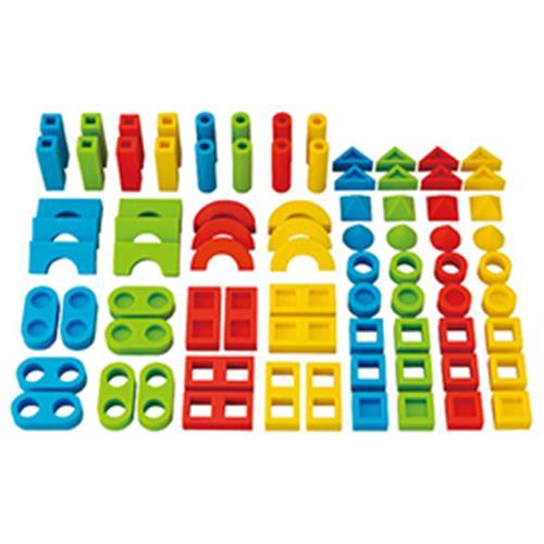 シリコンブロックセット【知育玩具/3歳/4歳/5歳/6歳/室内遊具/ブロック】