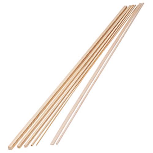 檜棒(角材) 10×10mm 50本入【造形・制作素材/木材・自然素材】