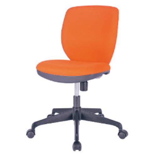 オフィスチェアMOS-22オレンジ【整理保管・事務用家具/オフィスチェア】