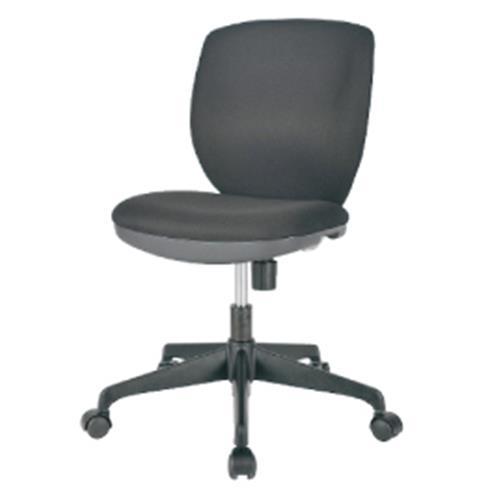 オフィスチェアMOS-22ブラック【整理保管・事務用家具/オフィスチェア】
