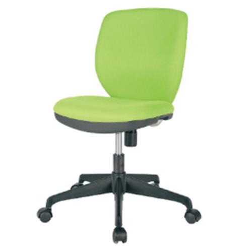 オフィスチェアMOS-22ライム【整理保管・事務用家具/オフィスチェア】