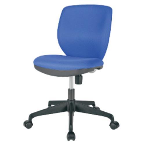 オフィスチェアMOS-22ブルー【整理保管・事務用家具/オフィスチェア】