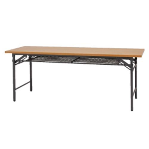 会議テーブル1860ブラウン【整理保管・事務用家具/会議用テーブル】
