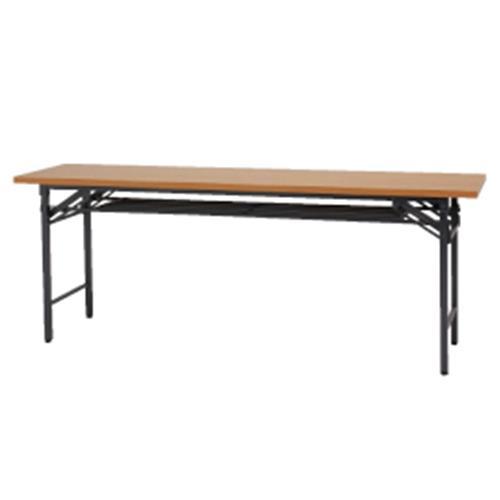 会議テーブル1845ブラウン【整理保管・事務用家具/会議用テーブル】