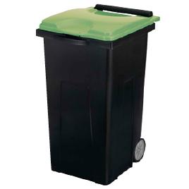 リサイクルカート90 グリーン【清掃用品/くず入れ】