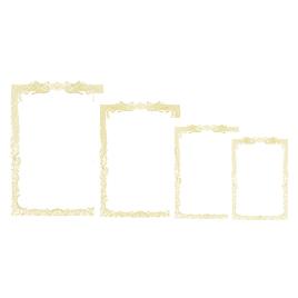 OA賞状用紙白地100枚 横書B4【季節・行事用品/賞状用紙】