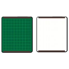 発表ボード 両面暗線入(5枚)【黒板・ホワイトボード用品/ホワイトボード】