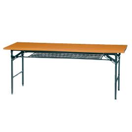 会議用テーブル1860チーク【整理保管・事務用家具/会議用テーブル】