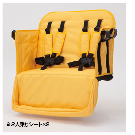 MJ6用対面掛け4人シート【乳幼児用品/ベビーカー】