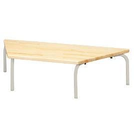 多目的テーブル 台形型 座卓タイプ【備品/幼児用家具】