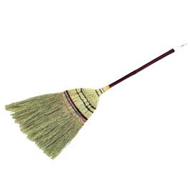 手編みホーキ短柄(85cm)20本組【清掃用品/ほうき】