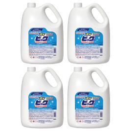 液体ビック4.5kg(4本)【洗濯用品/衣料用洗剤】