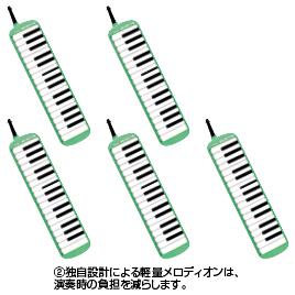 メロディオンMXA-32G (5台)【視聴覚用品・楽器/楽器】
