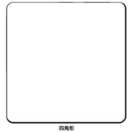 グループミーティングボード 正方形【黒板・ホワイトボード用品/ホワイトボード】