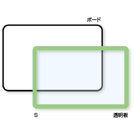 マルチラーニングボード S【黒板・ホワイトボード用品/ホワイトボード】