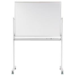 脚付両面WBスチール(121×91cm)【黒板・ホワイトボード用品/ホワイトボード】