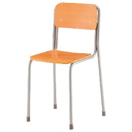 学生イス 6号【整理保管・事務用家具/学校用デスク・イス】