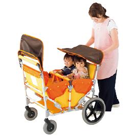 わくわくおさんぽカー(避難車兼用)【乳幼児用品/ベビーカー】