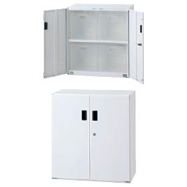 SボックスインフロアケースW585大4個【設備管理・収納用品/整理家具】