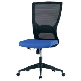 メッシュチェアINK-110ブルー【整理保管・事務用家具/オフィスチェア】