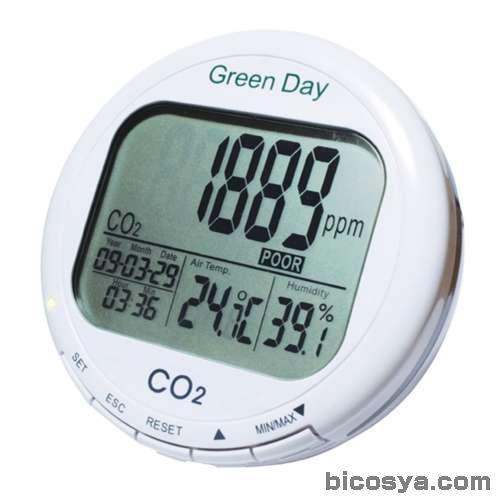 CO2モニター CO2-M1 送料無料[メール便不可](エネルギー・環境 環境測定 夏休み 冬休み 理科 自由研究セット 工作キット)