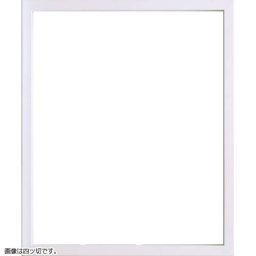デッサン額縁 9790 小全紙(660x509mm) ホワイト ガラス仕様【送料無料】【素描/ドローイング/写仏/ボタニカルアート/額装】