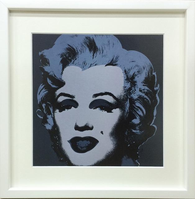 アートフレーム アンディ・ウォーホル Andy Warhol Marilyn Monroe (Marilyn), 1967 (black) iaw-60594 絵画 壁掛け おしゃれ 送料無料